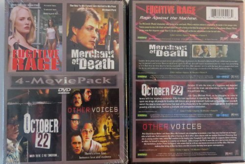 Fugitive Rage Merchant Of Death October 22 Other Voices 4 Movie Pack