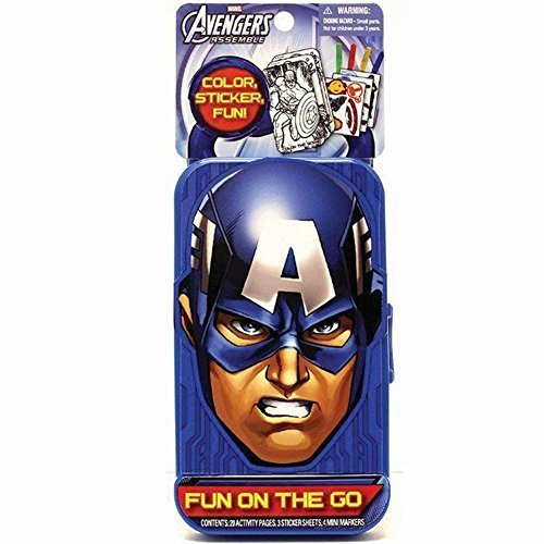 Toy Fun On The Go Avengers Captain America