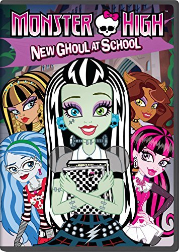 Monster High New Ghoul At School DVD