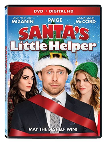 Santa's Little Helper Mizanin Paige Mccord DVD Pg