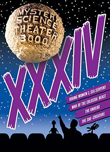 Mystery Science Theater 3000 Volume 34 DVD