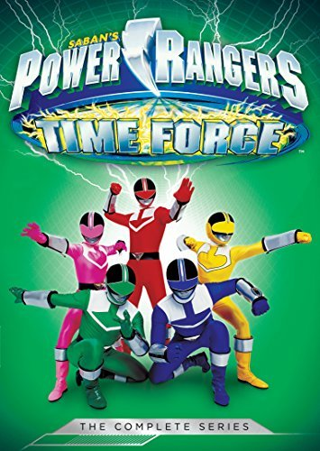 Power Rangers Time Force The Complete Series DVD