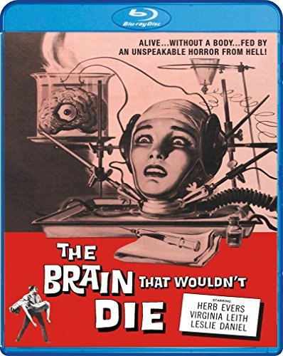 Brain That Wouldn't Die Evers Leith Daniels Lamont Blu Ray Nr