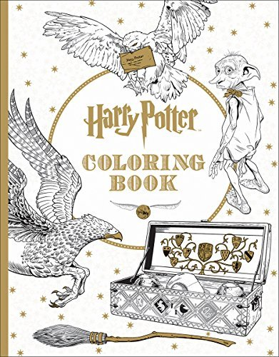 Inc. Scholastic Harry Potter Coloring Book