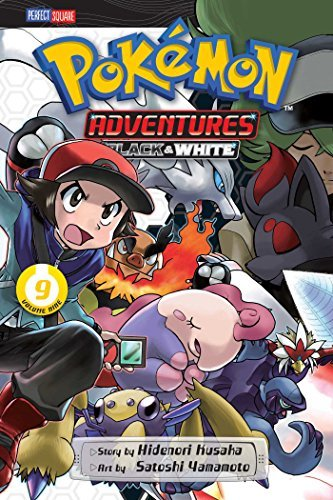 Hidenori Kusaka Pokemon Adventures Black And White Vol. 9