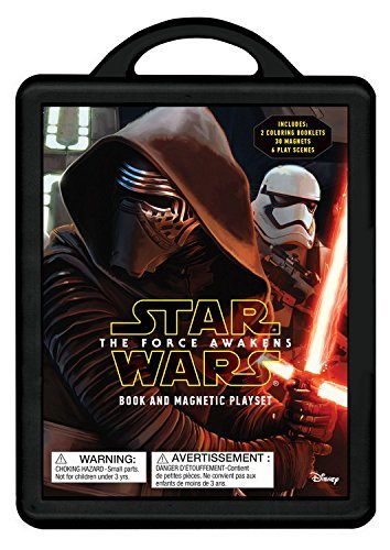 Disney Book Group Star Wars The Force Awakens Magnetic Book And Play Set