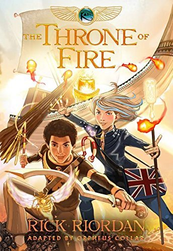 Orpheus Collar Kane Chronicles The Book Two The Throne Of Fire The Graphic Novel