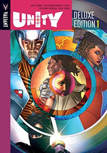 Matt Kindt Unity Book 1 Deluxe