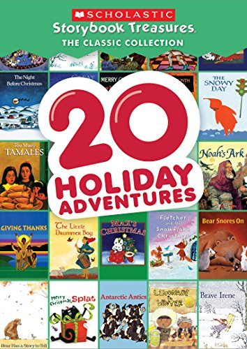 Scholastic Storybook Treasures 20 Holiday Adventures DVD