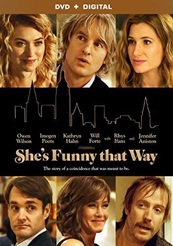 She's Funny That Way Poots Wilson Aniston Forte DVD Dc R