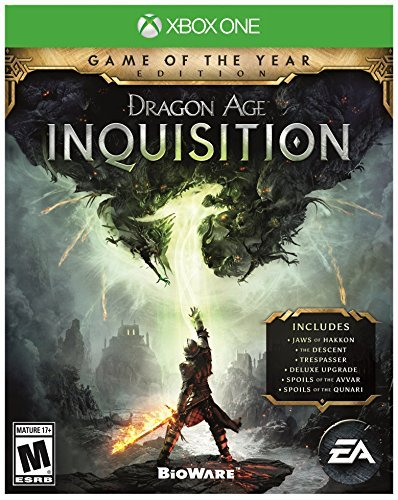 Xbox One Dragon Age Inquisition Game Of The Year Edition Dragon Age Inquisition Game Of The Year Edition