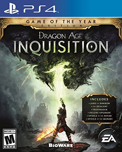 Ps4 Dragon Age Inquisition Game Of The Year Edition Dragon Age Inquisition Game Of The Year Edition