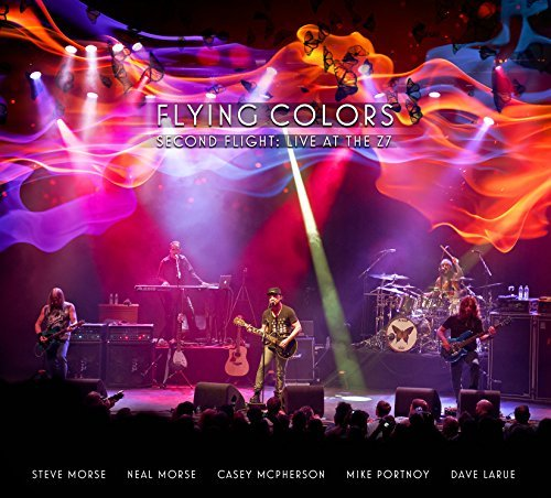 Flying Colors Second Flight Live At The Z7 2cd + DVD