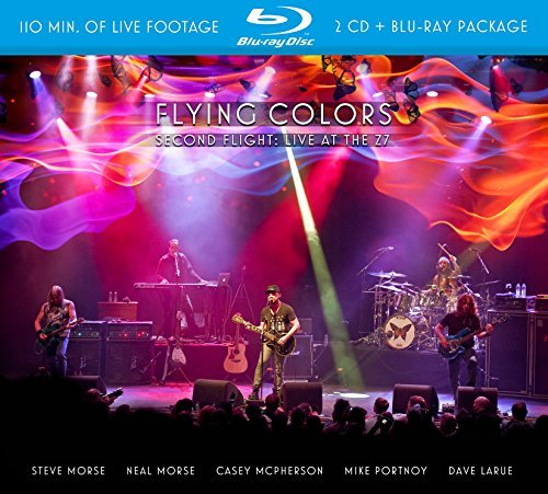 Flying Colors Second Flight Live At The Z7 Incl. CD