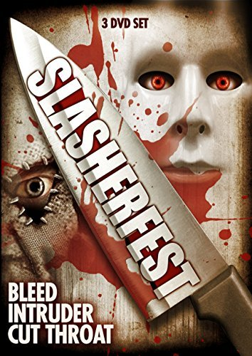 Slasherfest Bleed Intruder Cut Throat 3 DVD