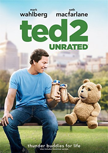 Ted 2 Wahlberg Macfarlane Seyfried DVD Unrated