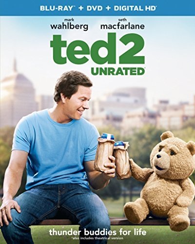 Ted 2 Wahlberg Macfarlane Seyfried Blu Ray DVD Dc Unrated