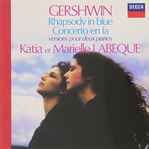 Katia & Marielle Labeque Gershwin Rhapsody In Blue Con Import Eu