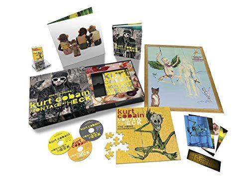 Kurt Cobain Montage Of Heck [super Deluxe] Explicit Blu Ray Disc + CD Album Montage Of Heck [super Deluxe]