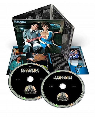 Scorpions Lovedrive Import Jpn Incl. DVD Incl. Bonus Track Re