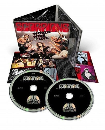 Scorpions World Wide Live Import Jpn Incl. DVD Incl. Bonus Track Re