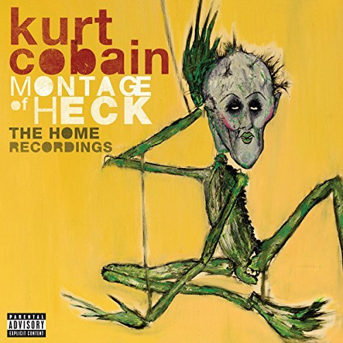 Kurt Cobain Montage Of Heck The Home Recordings Explicit 2lp Set