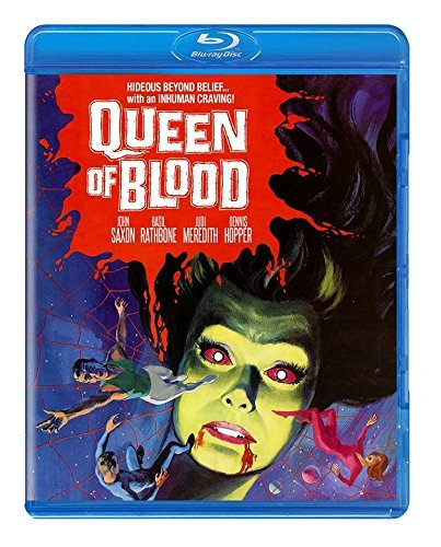 Queen Of Blood Saxon Rathbone Hopper Meredith Blu Ray Nr