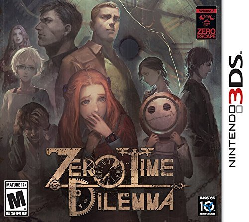 Nintendo 3ds Zero Time Dilemma