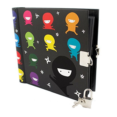 Diary Ninja Top Secrets Locking Diary