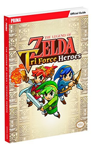 Prima Games The Legend Of Zelda Tri Force Heroes Standard Edition Guide