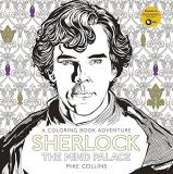 Mike Collins Sherlock The Mind Palace A Coloring Book Adventure