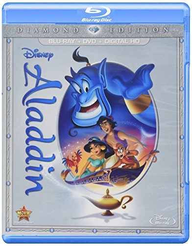 Aladdin Disney Blu Ray DVD Dc G Diamond Edition