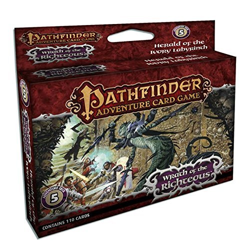 Mike Selinker Pathfinder Adventure Card Game Wrath Of The Righteous Adventure Deck 5 Herald O