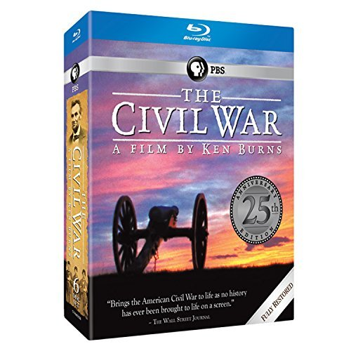 Civil War Ken Burns Blu Ray Nr 25th Commemorative Edition
