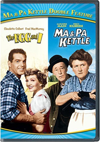 Ma & Pa Kettle Double Feature DVD G