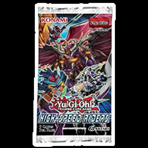 Yu Gi Oh Cards Speed Riders Booster Pack