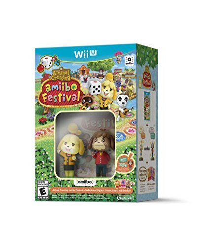 Amiibo Animal Crossing Amiibo Festival Bundle