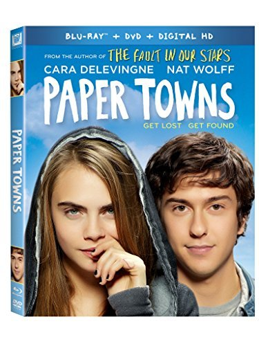 Paper Towns Wolff Delevingne Blu Ray DVD Dc Pg13