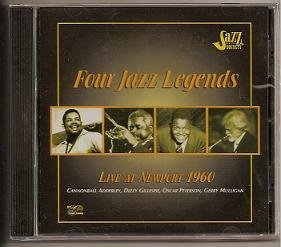 Four Jazz Legends Live At Newport 1960