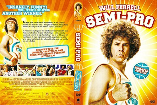 Semi Pro Ferrell Harrelson Benjamin Unrated Edition