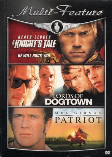A Knight's Tale Lords Of Dogtown The Patriot Triple Feature