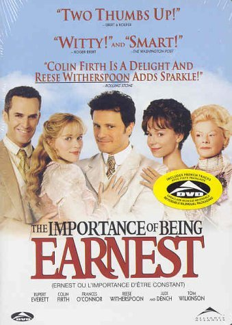 The Importance Of Being Earnest Everett Firth O'connor Withers