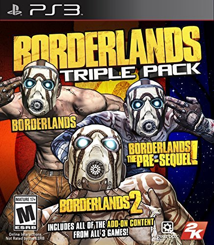 Ps3 Borderlands Triple Pack Borderlands Triple Pack