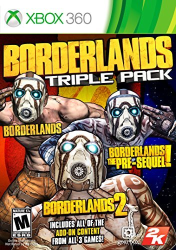Xbox 360 Borderlands Triple Pack