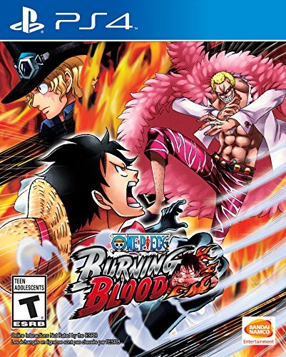 Ps4 One Piece Burning Blood One Piece Burning Blood