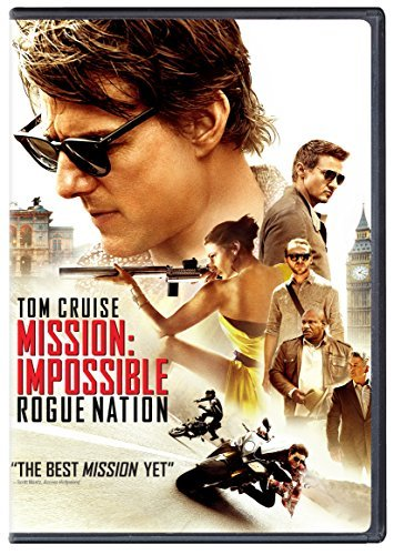 Mission Impossible Rogue Nation Cruise Ferguson Renner DVD Pg13