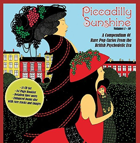 Piccadilly Sunshine Volumes 1 10 A Compendium Of Rare Pop Curios From The British Psychedelic Era 11cd