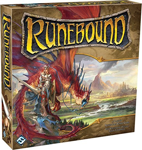Fantasy Flight Games Runebound Board Game 0003 Edition;