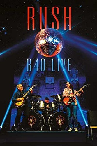 Rush R40 Live 3cd DVD Combo