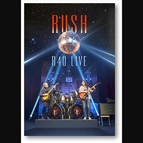 Rush R40 Live 3cd Blu Ray Combo R40 Live